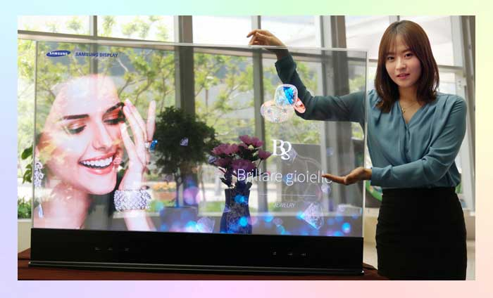 Прозрачный OLED-дисплей от Samsung (The Window)