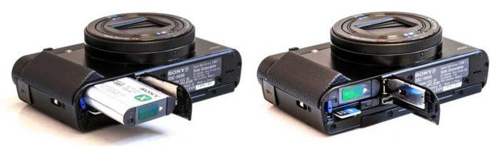 Sony Cyber-shot DSC-HX99 интерфейсы и питание