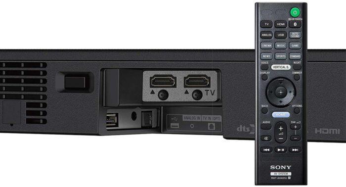 Sony HT-XF9000 интерфейсы