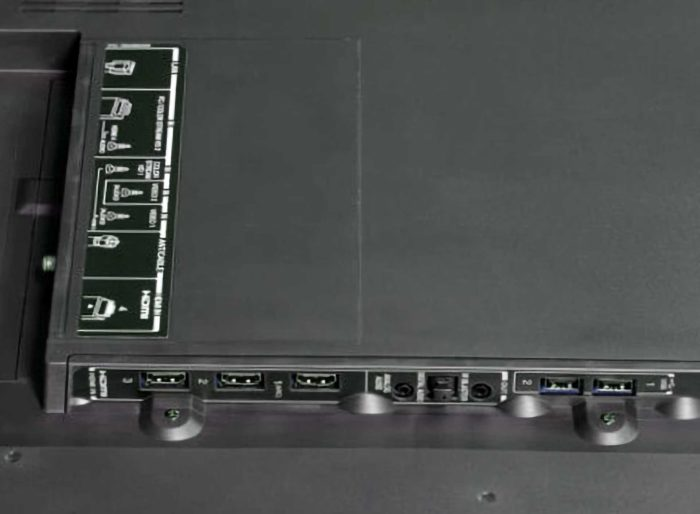 Toshiba 43U7750EV интерфейсы