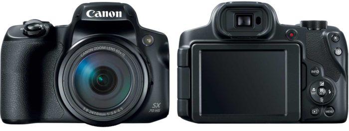 Canon PowerShot SX70 HS дизайн