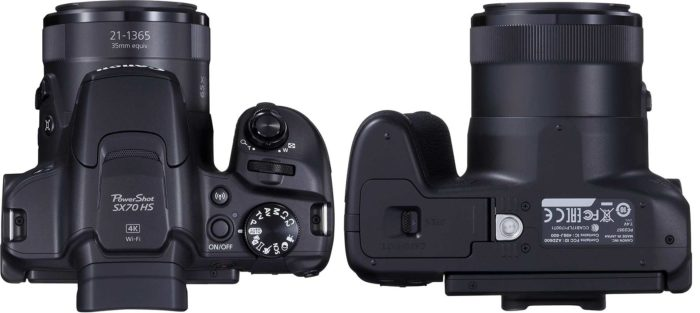 Canon PowerShot SX70 HS управление