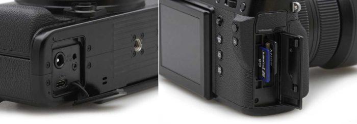 Fujifilm GFX 50R - интерфейсы