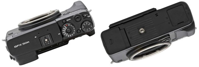 Fujifilm GFX 50R дизайн