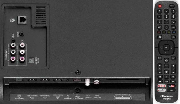 Hisense N5300 подключения