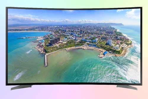 Hisense H55N6600 4К HDR с изогнутым экраном
