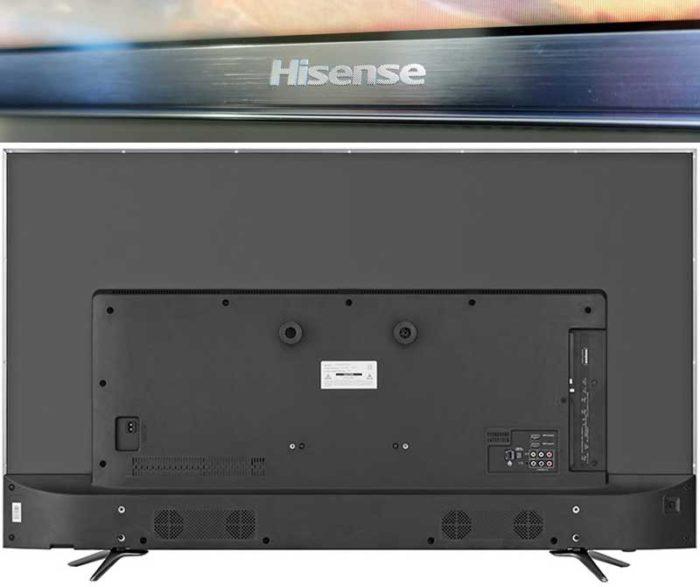 Hisense H55N6800 4K HDR из серии N6800 дизайн