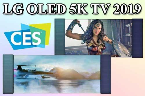 LG OLED 5K TV с форматом 21: 9 для фильмов