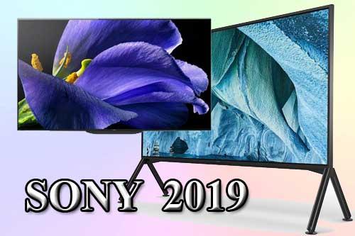 Модельный ряд телевизоров Sony 2019 года