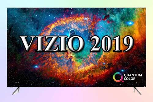Модельный ряд телевизоров Vizio 2019 года
