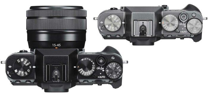 Fujifilm X-T30 управление