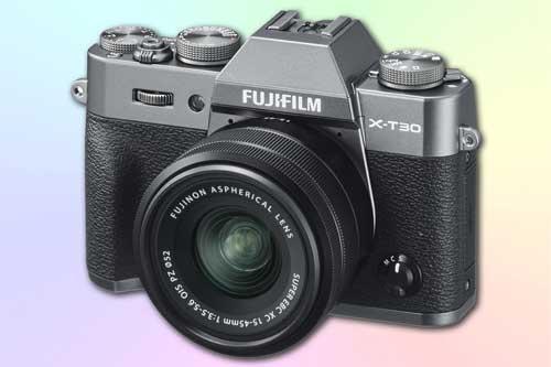Fujifilm X-T30 - 4K фотоаппарат со сменной оптикой