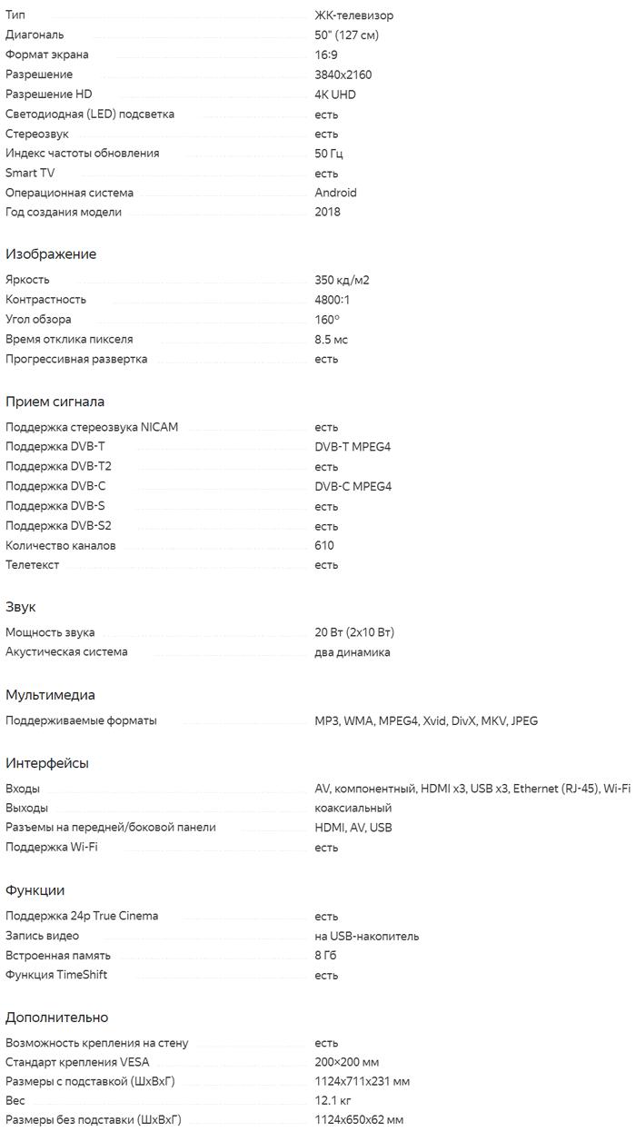 Характеристики S60T2SU