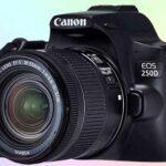 Canon EOS 250D лёгкий зеркальный  фотоаппарат