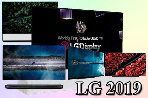 Модельный ряд телевизоров LG 2019 года