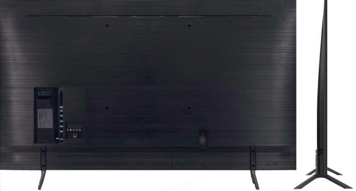 Samsung RU7100U тыловая сторона