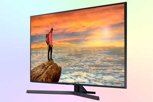 Samsung UE43RU7400U из бюджетной серии RU7400