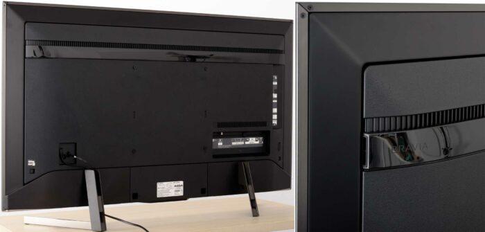 Sony KD-49XG9005 задняя панель