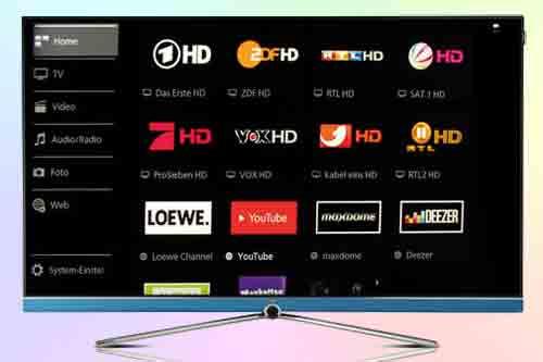 Телевизор Loewe Connect 55 UHD