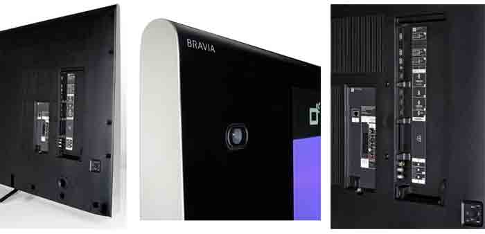 Телевизор Sony KD-65X9005B. разъемы и камера скайп