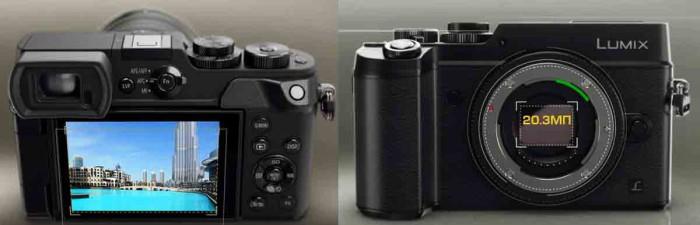 Фотоаппарат Panasonic GX8 4K. Объектив и Дисплей