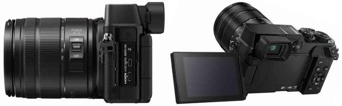 Фотокамера Panasonic GX8 4K. Интерфейсы