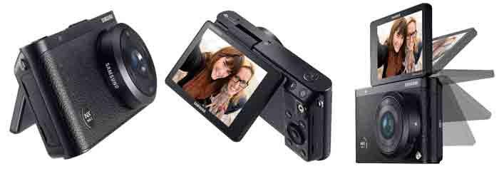 В камере Samsung NX mini 2 присутствует дисплей который выполнен по технологии AMOLED, а не ЖК-версии