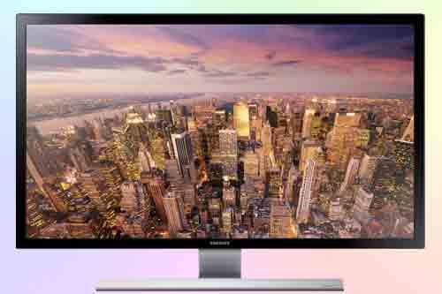 Samsung U24E590 4K IPS. Обзор