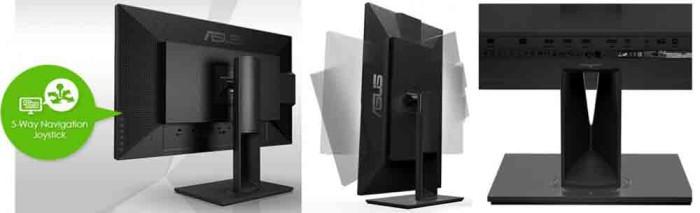 монитор Asus PA328Q. Ракурсы и коммутация