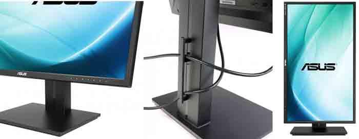 монитор Asus PB279Q. Дизайн и поворот экрана