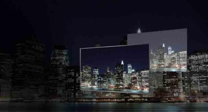 Телевизор Panasonic TC-85AX850U. Контрастность