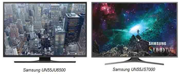 Samsung UN55JU6500 и Samsung UN55JS7000. Обзор, отличия