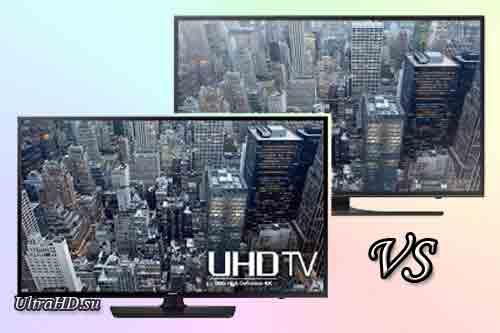 Телевизор Samsung UN55JU6400 и Samsung UN55JU6500. Обзор. Сравнение