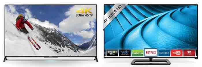 Телевизоры Sony XBR55X850B vs Vizio P552ui-B2