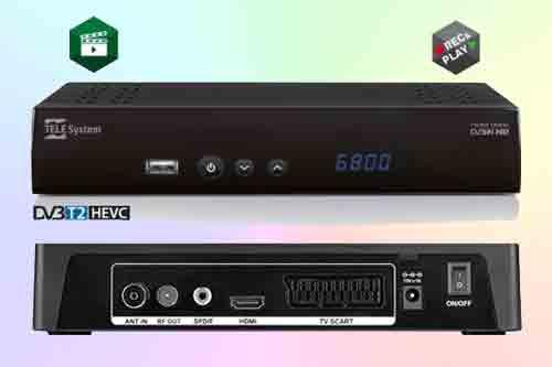 Спутниковый ресивер TS6800 T2HEVC set-top box