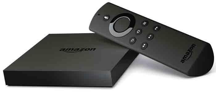 Телевизионная приставка Amazon Fire TV 4K box. Неполный комплект