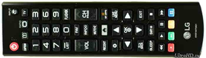 Телевизор LG 55UF6800. Пульт ДУ