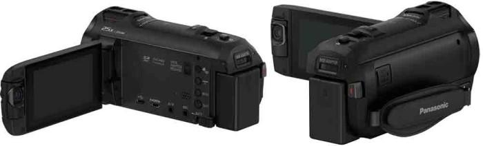Panasonic HC-WX970. Управление