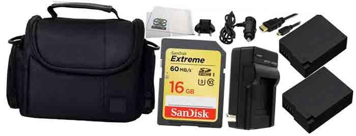 Фотокамера Panasonic LUMIX DMC-G7KEE. Аксуссуары