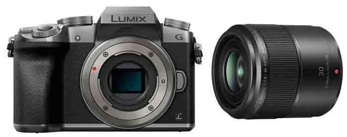 Фотокамера Panasonic LUMIX DMC-G7KEE. Объектив