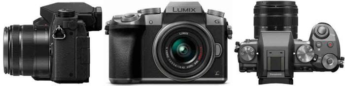 Фотокамера Panasonic LUMIX DMC-G7KEE. Ракурс