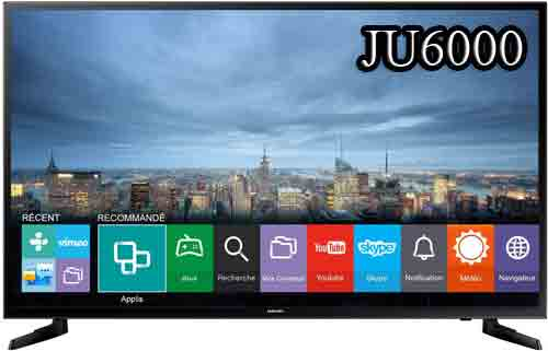Телевизор Samsung UE55JU6000 - Смарт ТВ