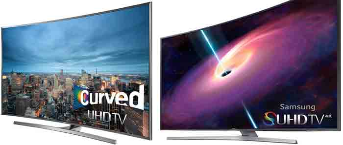 Отличия телевизоров Samsung UN48JS9000 и Samsung UN48JU7500