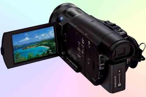 Обзор видеокамеры Sony FDR-AX100 4K