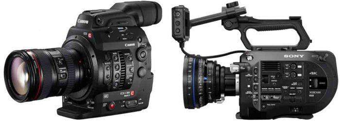 Sony FS7 vs Canon C300 Mark II. 8 или 15 тысяч долларов