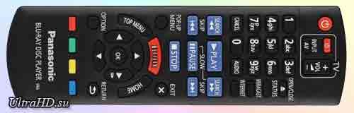 Panasonic DMP-BDT330 Пульт