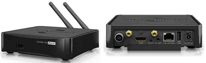 Dune HD Solo 4K - интерфейсы