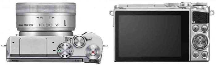 Фотокамера Nikon 1 J5 - управление