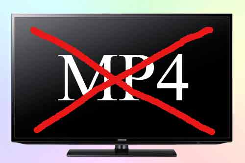 Телевизор Samsung не воспроизводит MP4. Решение