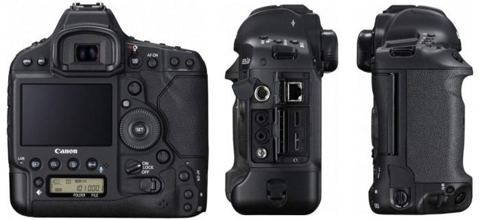 Canon EOS-1D X Mark II ракурсы